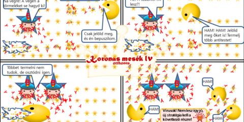 Koronás mesék IV - A falósejtek
